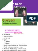 Denture Base Consideration-16!12!14