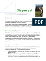Naturalist Outreach Seed Dispersal