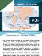 5.2. Tipos de Corrientes Marinas.