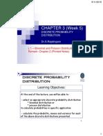 Chapter 03 W5 L1 Discrete Prob Dist - Bin and Poisson 2015 UTP C2