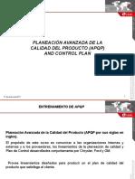 Manual de Entrenamiento Para APQP- SL