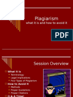 Plagiarismism