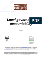 Local Government Accountability Tool English