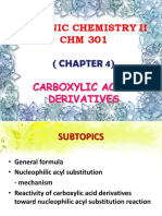 CHAPTER 4-Carboxylic Acids Derivatives
