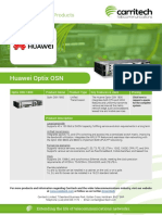 Huawei Optix Metro - Carritech Telecommunications
