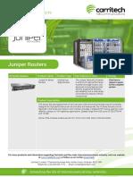 Juniper Routers - Carritech Telecommunications