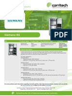 Siemens BS - Carritech Telecommunications