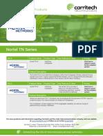 Nortel TN Series - Carritech Telecommunications