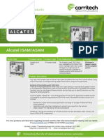 Alcatel ISAM/ASAM - Carritech Telecommunications