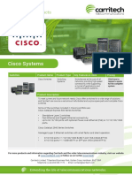 Cisco Systems - Carritech Telecommunications