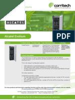 Alcatel Evolium - Carritech Telecommunications