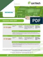 Siemens SRA/SRT - Carritech Telecommunications