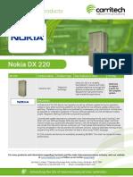 Nokia DX - Carritech Telecommunications