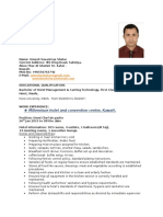 Umesh Resume