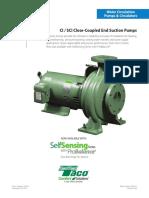 Close-Coupled End Suction Pumps