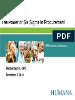 Procurement Six Sigma
