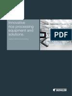 Buhler Rice Processing Catalogue Global 2015