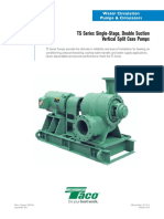 Single-Stage, Double Suction Vertical Pumps