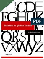 Livro - Dicionário de gêneros textuais - Sérgio Roberto Costa.pdf