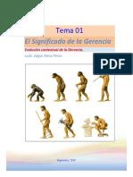Evolucion Contextual de La Gerencia