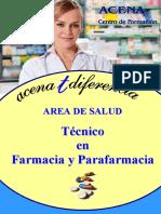 Dosier Tecnico Farmacia Parafarmacia