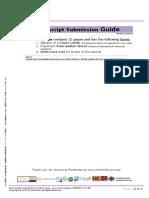 Manuscript Submission Guide Rev.8-2015