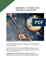 Los Neurotransmisores y Su Relación Con La Ansiedad