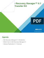 01 Site Recovery Manager 6.1 Overview