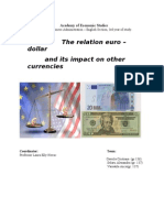Euro-Dollar Relation and Its Impact on Other Currencies