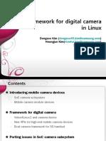 Framework for Digital Camera in Linux-In Detail