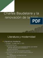 Charles Baudelaire y la renovación de la lírica