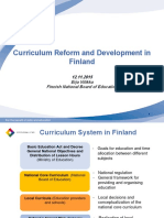 12.111.15 Curriculum Reform in Finland Vitikka