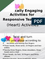 7 Heart Activities