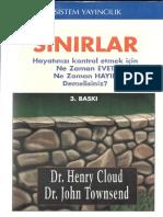 Henry Cloud - John Townsend - Sınırlar