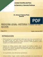 Clase 01 ML-I Historia de la Medicina Legal