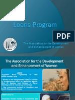 Loans Program in ADEW