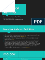 Bronchial Asthma Report