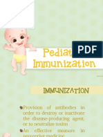 Pediatric Immunization