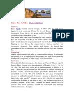 Travel Tips in India- Ghum India Ghum