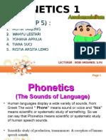 Phonetic 1