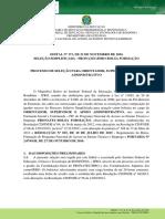 Edital Nº 171 - PROEX - Processo Seletivo Simplificado Para Atuação Como Orientador, Supervisor e Apoio Administrativo - PRONATEC-IfRO
