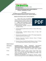 Kata Pengantar,Daftar Isi,SK pelayanan IGD fix.docx