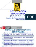2. NOTIFICACION ESPONTANEA