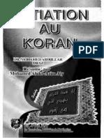 Initiation Au Koran Résumé