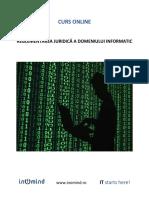 Reglementarea Juridica a Domeniului Informatic