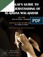 314129863 Al Qadaa Wal Qadar Sheikh Saleh as Saleh