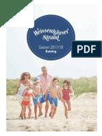 Gastgeberverzeichnis Weissenhäuser Strand 2017