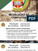 Resolução de Conflitos. Aula 3. Pptx