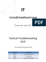 003 Tactical Troubleshooting Exercise