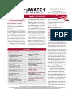 Journal Watch Cardiology 1002